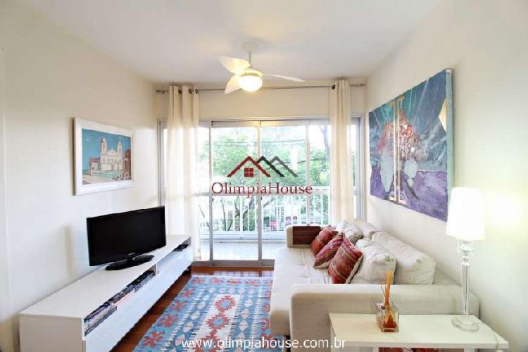 Apartamento à venda com 75m² - vila olímpia, sp.