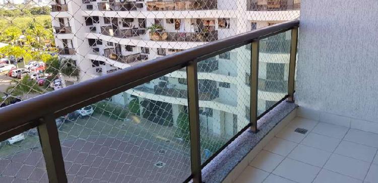 Condomínio residencial life no recreio, varanda, 3 quartos