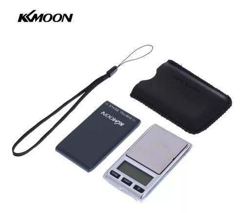 Kkmoon 100*0.01g/500*0.1g mini escala digital