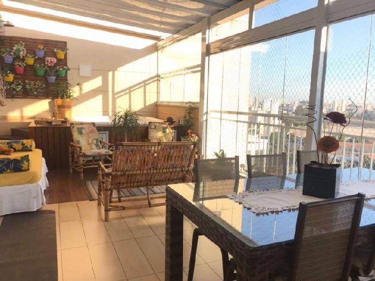 Linda cobertura vila carrão - 190 m² - 3 dorms - 3 vagas -