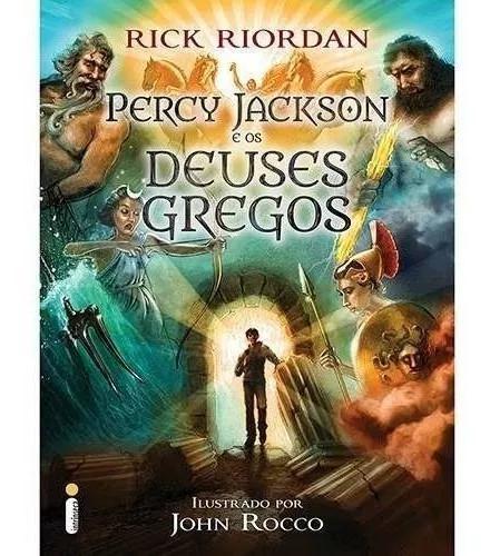Livro percy jackson e os deuses gregos - intrinseca