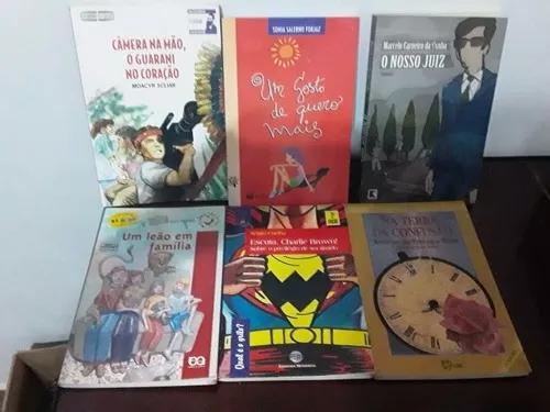 Lote com 40 livros infanto juvenil - lote 01