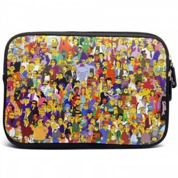 Case sleeve luva ipad tablet 7.9 the simpsons familia