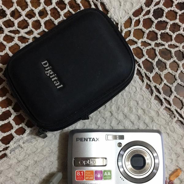 Câmera máquina fotográfica pentax optio e40