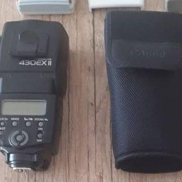 Flash canon com case