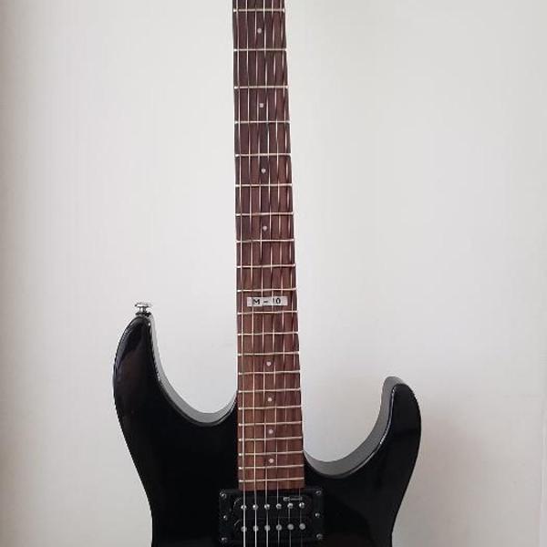 Guitarra esp ltd m10 lm10k preta com bag e com nota fiscal.