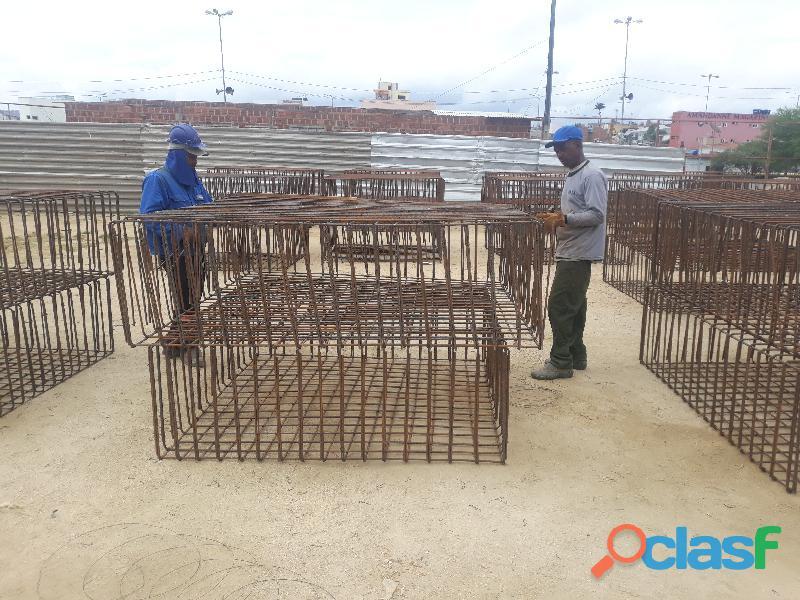 Serviços de corte, dobra & montagem de aço estrutural traga seu projeto