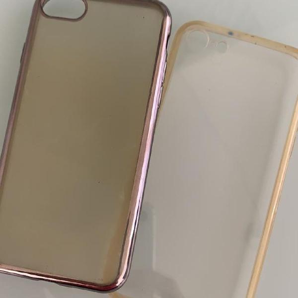 2 capinhas iphone 7