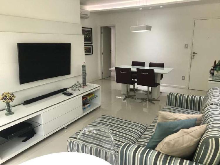 Apartamento 3 de quartos mobiliado para locação na pituba
