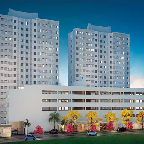 Apartamentos prontos para morar 2 dormitorios 44mº com vaga