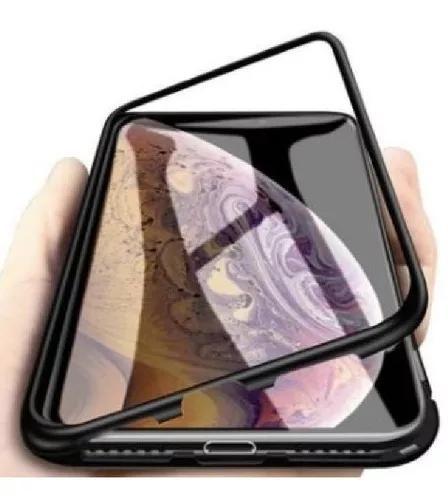 Capa capinha 180° magnética iphone 7 plus / 8 plus +