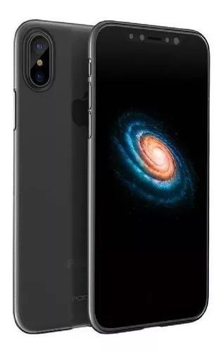 Capa para iphone x xs ultra fina rock naked case original