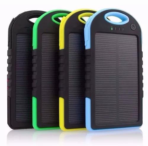 Carregador solar para celular bateria universal todas as cor