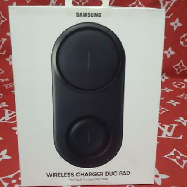 Carregador turbo sem fio samsung wireless duo pad