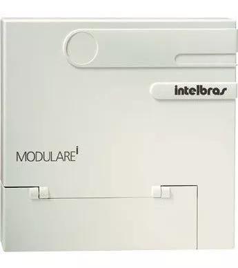 Central pabx modulare-i intelbras 4x12 - 4 linhas 12 ramais