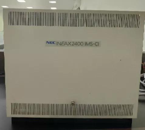 Central pabx nec - neax 2400 ims-ci + ks nec