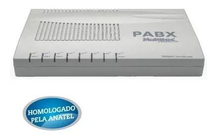 Central telefonica pabx 3008 3 linhas 8 ramais aquicompras