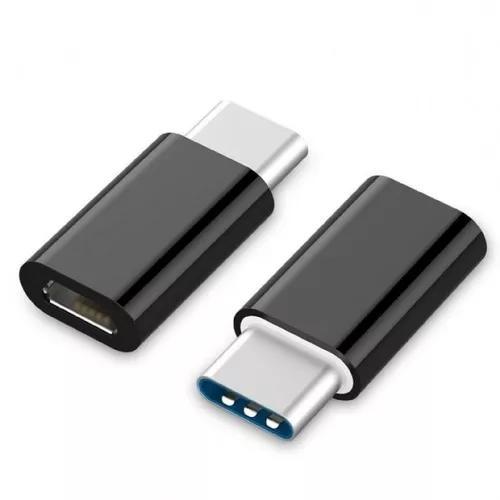 Kit 2 adaptador micro usb f