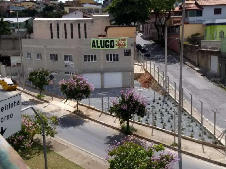 Loja 220 m2 + 06 vagas, esquina av. antonio carlos - bh / mg