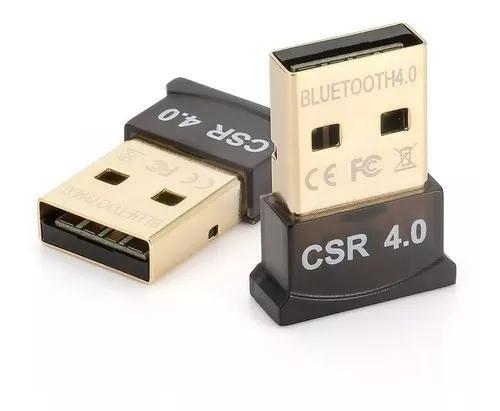 Mini adaptador bluetooth csr ver. 4.0 dongle
