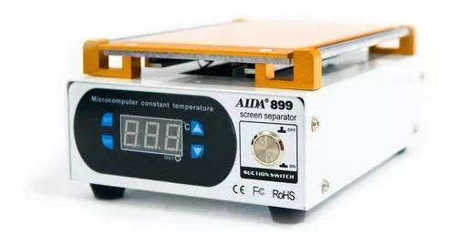 Máquina separadora tela touch sucção vacum aida 899 lcd
