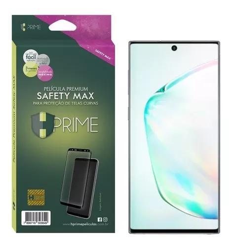 Película hprime safety max vidro 3d full fixação cobre