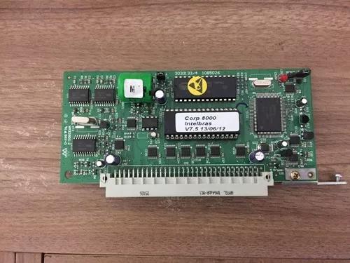 Placa cpu pabx corp 8000 / 6000 intelbras