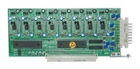 Placa ramal analógico 100/40 16064 e corp 16000