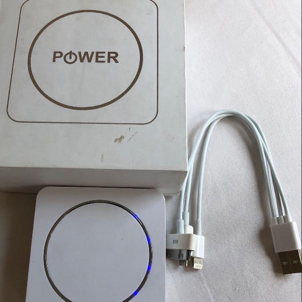 Carregador portátil power bank smart