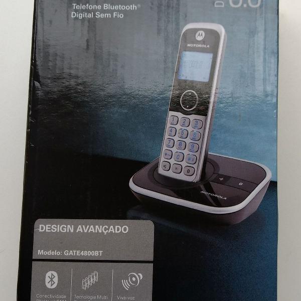 Telefone motorola bluetooth digital sem fio