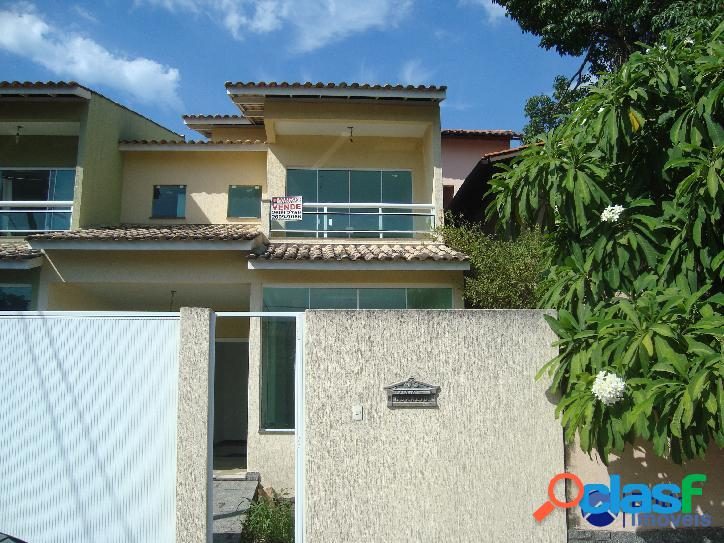 Venda - casa residencial - 3 quartos - itaipu