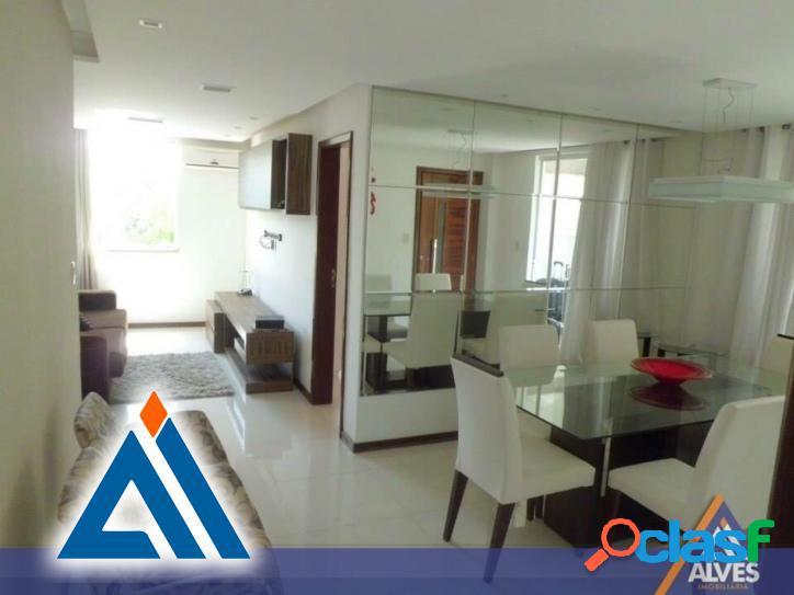 Apartamento decorado e com móveis decorado