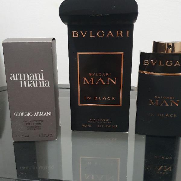 Bvulgari man in black