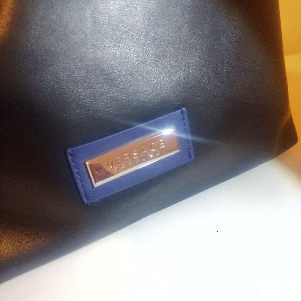 Bolsa versace couro - coffret