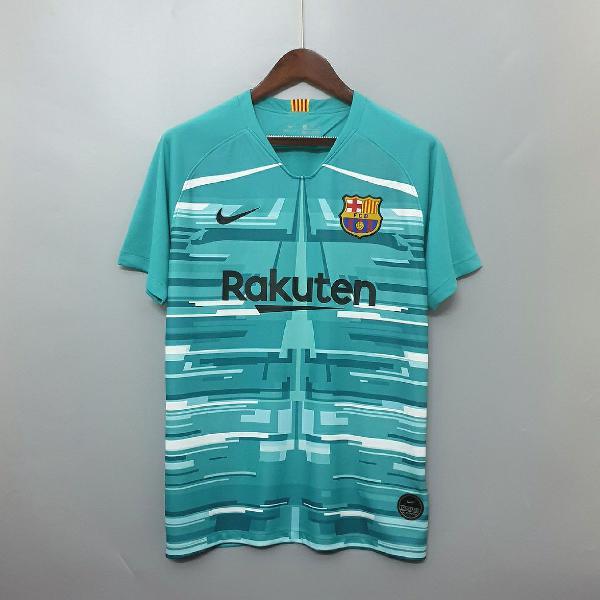 Camisa barcelona azul