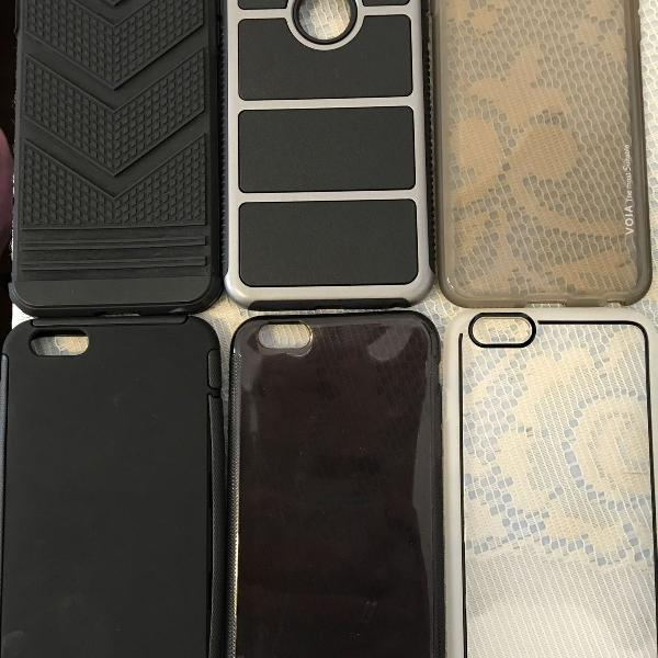 Kit de Capinhas iPhone 6 Plus/6S Plus
