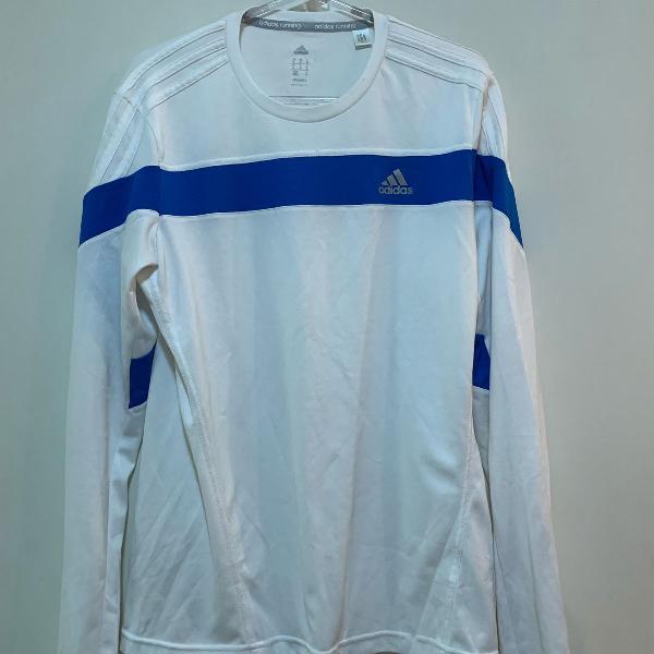 Camisa treino manga comprida adidas
