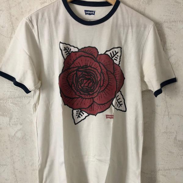 Camiseta levis flor