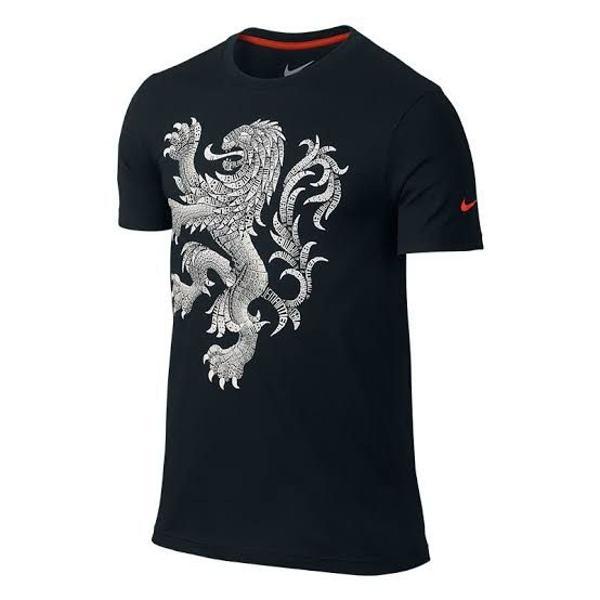 Camiseta nike holanda netherlands slim fit - aceito