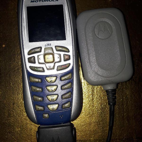 Colecionador aparelho celular nextel motorola com carregador