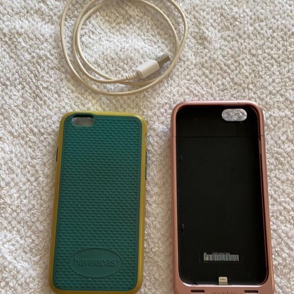 Kit acessórios e bateria iphone 6s