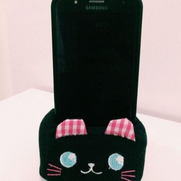 Porta smartphone gatinho