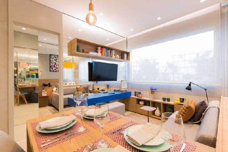 Apartamento para venda com 1 quarto na bela vista - nove de