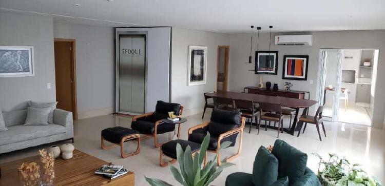 Apartamento 240 m² com 4 suítes - setor marista - goiânia