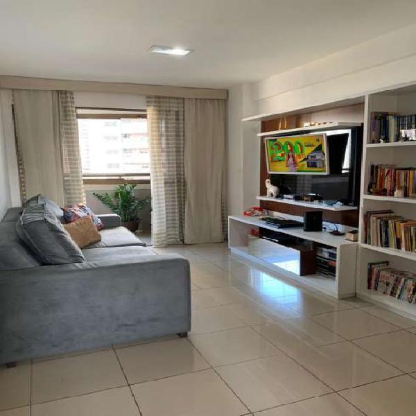 Apartamento para venda, possui 89 m2, com 3 quartos em cocó