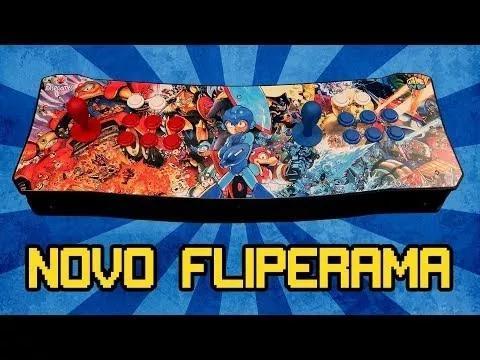 Fliperama portátil - 8 mil jogos
