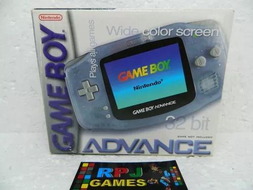 Game boy advance glacial completo gba - loja centro rj