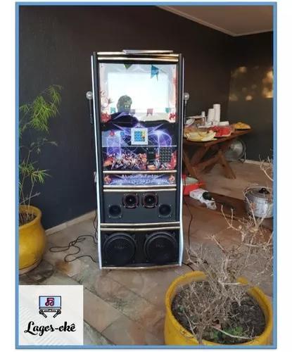 Maquina de karaokê - videokê - locação / aluguel