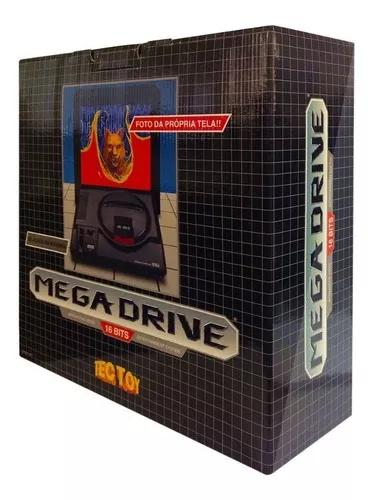 Mega drive 1 controle tectoy - 22 jogos na m