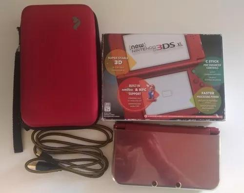 New nintendo 3ds xl - completo